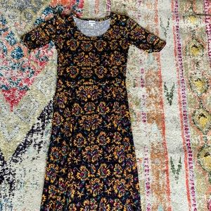 LulaRoe Ana Maxi Dress Sz L
